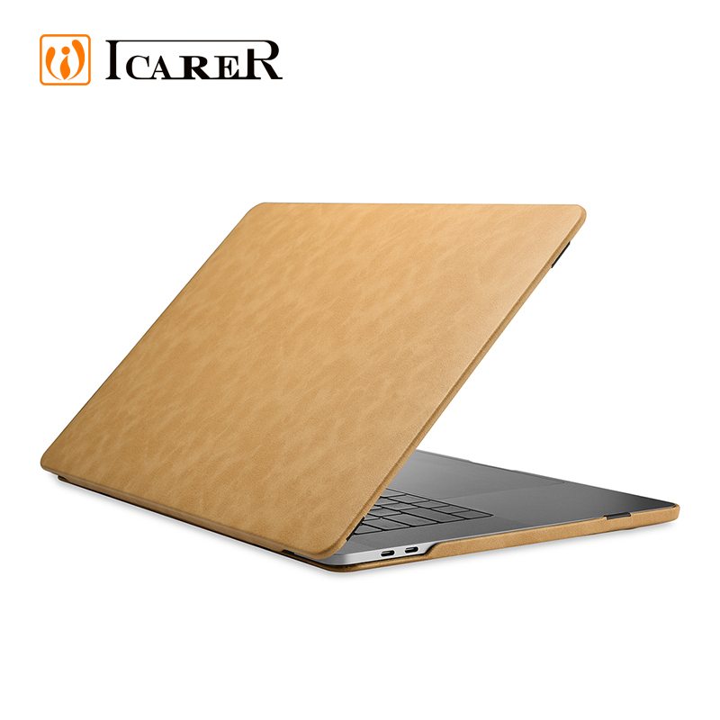 Best Seller 13 15 inch Protective Cover Slim Genuine Leather Computer Laptop Sleeve Case For Apple For Mac Book For Macbook Pro