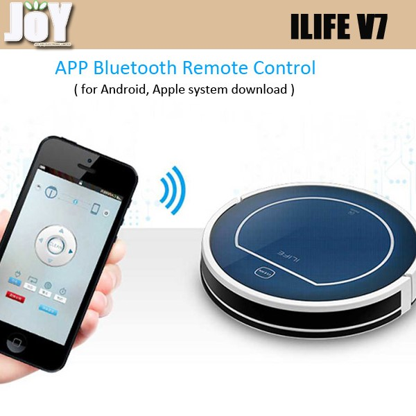 New arrive Chuwi ILIFE V7 bluetooth mini vacuum cleaner Super Mute Sweeping Robot Home Dust Cleaning with remote controller