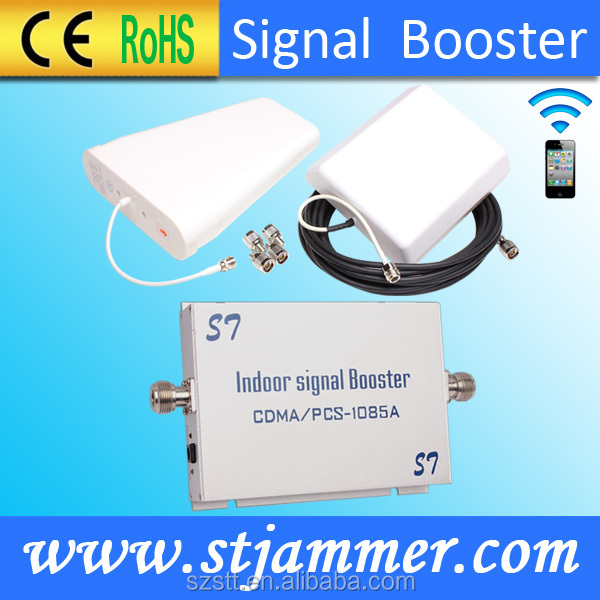 Repeater dual band GSM signal repeater dual band 850 1900MHz coverage100sqm gain55dB