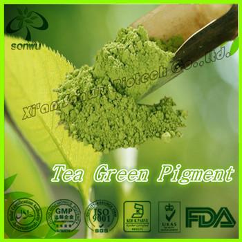 Natural Tea Green Pigment Colour