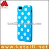 for iphone5 polka dot cosmetic case