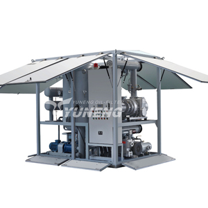 Since 1997 Mobile and Convenient Transformer Oil Degassing Machine , Oil Refinery Plant for Transformer Oil ZJA Series