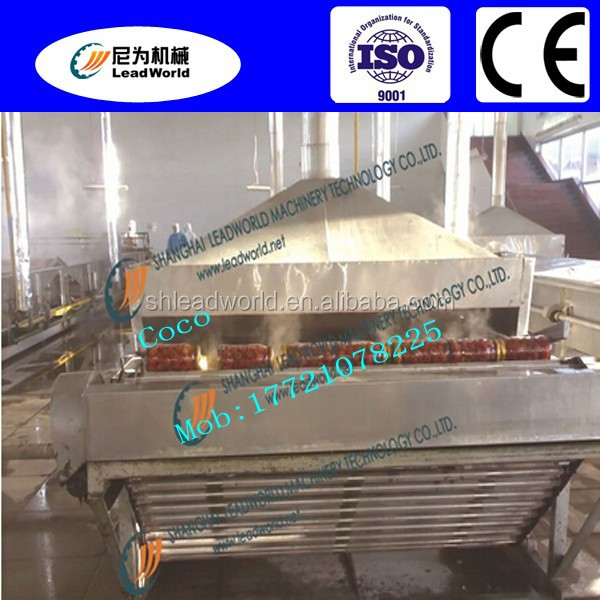 professional and factory price continuous rolling bar sterilizing machine