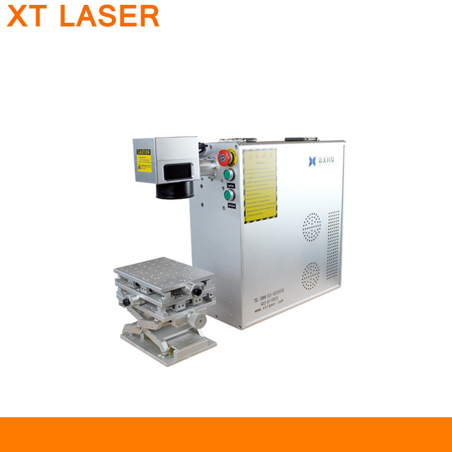 portable small size fiber laser cutting machine, engraving pet tag, hot sale fiber laser marking machine