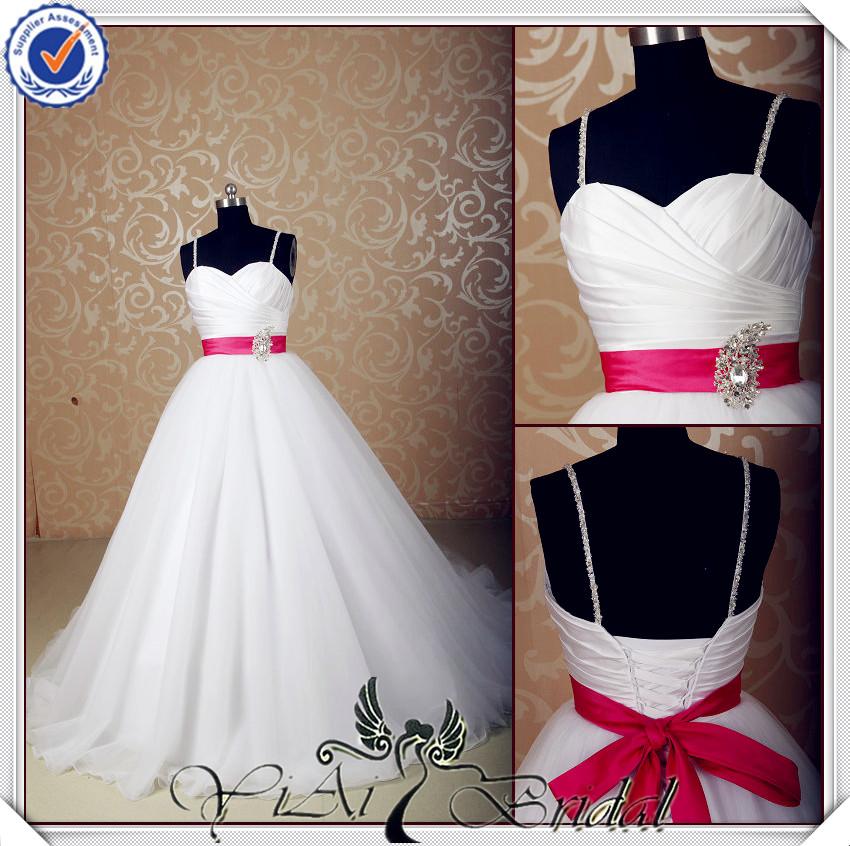 jj3566 escote corazón puffy ball vestidos de novia vestido con