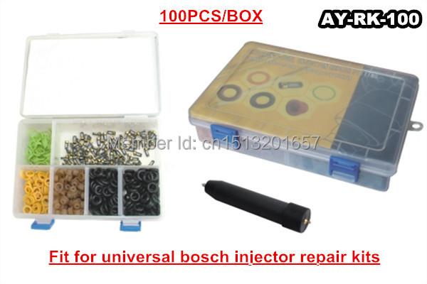 100 piecs / коробка топ поток топливный инжектор ремонтные комплекты для универсальный bosch ( AY-RK100 )