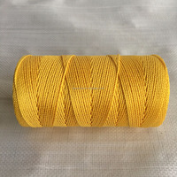 1000ft Twisted Yellow Polyester Seine Twine , Kite Reel , Mason Line