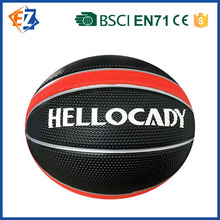 Costom Toys for Kids Rubber Balls Hot Selling Basket Ball