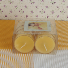 Yes Handmade and Weddings Use yellow tealight candles