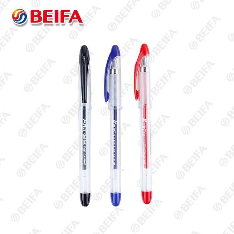 GA101400 Beifa School Gifts glitter gel ink pen