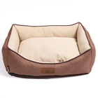 pet supply comfort padded fleece pet dog bed