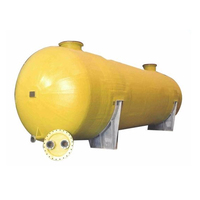 Competitive price horizontal Q345R pressure vessel compressed air gas storage tank