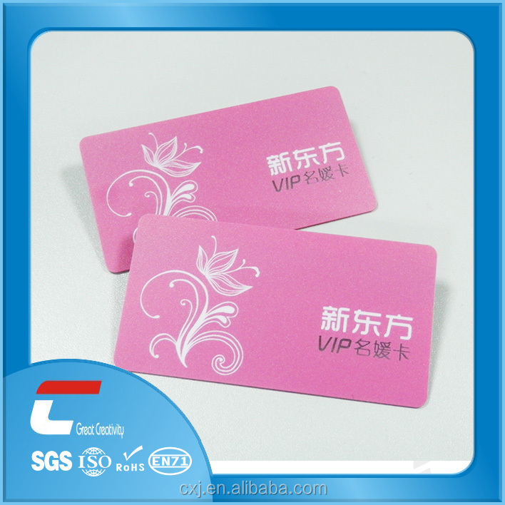 pantone color card/color business card printing machine