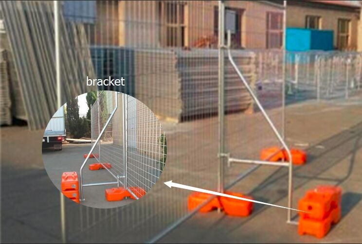 Australia Temporary Fencing For Sale With Plastic Stand