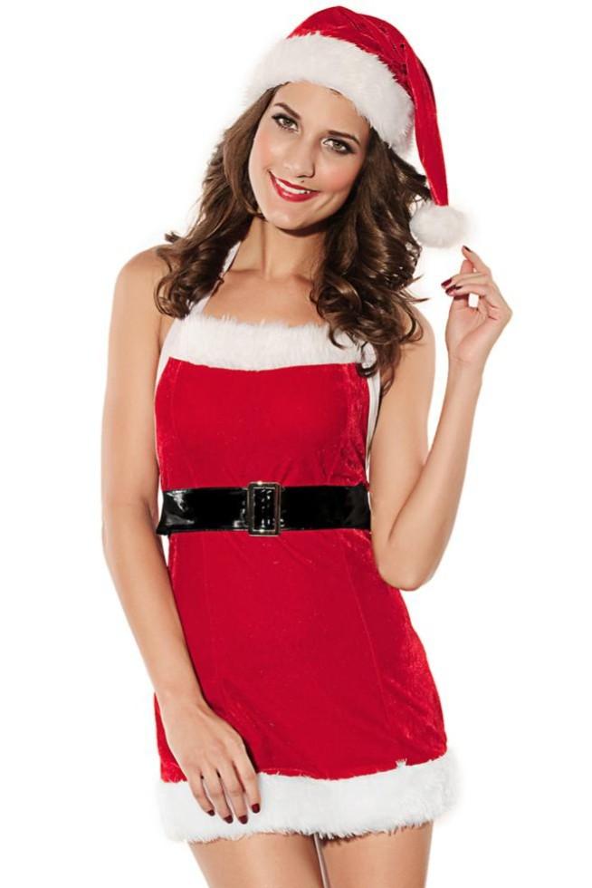f0ca244193a Get Quotations · santa claus costume Sexy Women Santa Costumes Wholesale