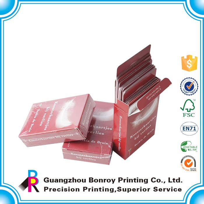OEM High Quality Card Set Trading Custom Playing Card Design