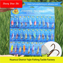 Free Samples !!! Exported Metal Fishing Lures Sets
