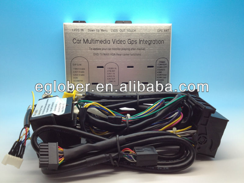 audi non-mmi system A4/A5/Q5 rgb multimedia interface