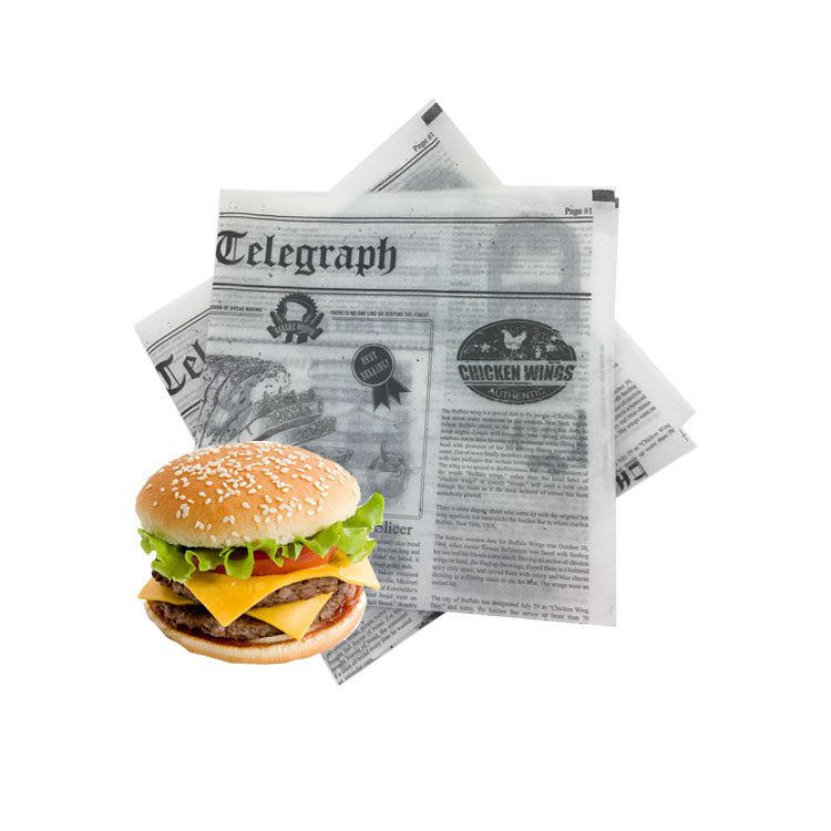 Fulton Personnalisé Papier Sulfurisé Brun Fabricants Pour L'emballage Alimentaire/Biodégradable