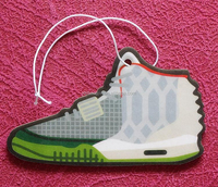 Sneaker Yeezy double sides printing air freshener black ice