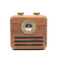 Outdoor Exercise Handheld Essential Radio Rechargeable Battery Portable Bluetooth Speaker With Fm Radio