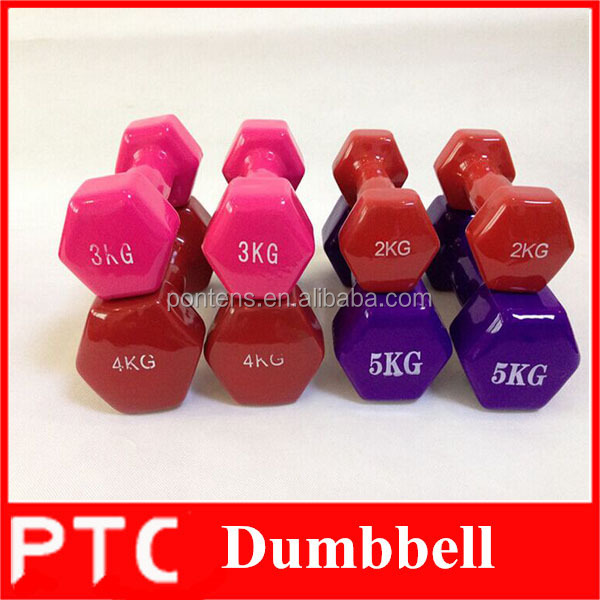 wholesale color custom logo neoprene vinly dumbbells in <strong>weight</strong> lifting