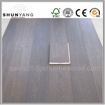 15mm18mm20mm21mm Grey Euro White Oak Wood Flooring Multilayer