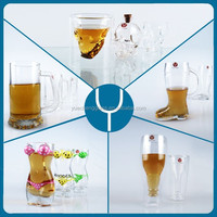 custom american beer glass wholesale