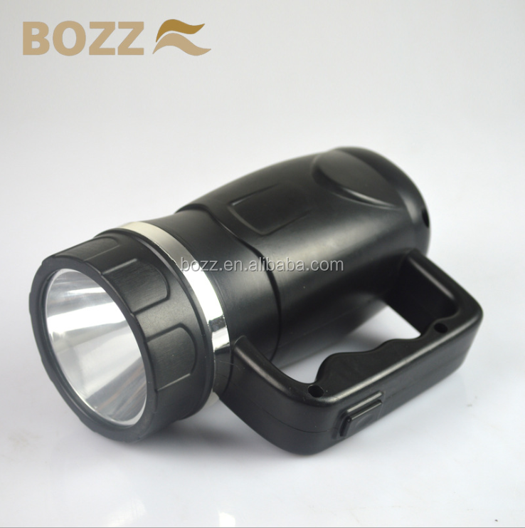 super light BL-6603 500 meter 3W LED hand waterproof hunting camping rechargeable portable led light lighting