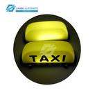 Plastic Magnet Wireless Taxi LED Top Light Advertising Light Box Car accessories 12v led taxi roof light