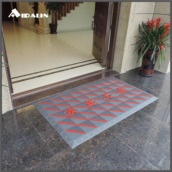 durable personalised eva anti dust home entrance welcome door mat