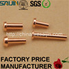 Electrical Supply Silver Contact Metal Pins Copper Thimble