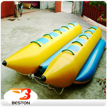 Popular Water Playing toys Inflatable Banana Boat for Sale