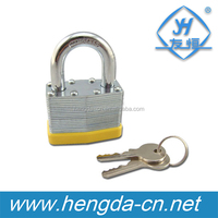 RG-069 Safety Steel 50mm Laminated Padlock With Key