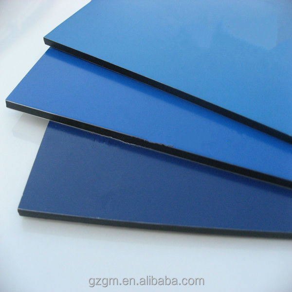 Material Construction Aluco Board 3mm Aluminium Composite Panel ...