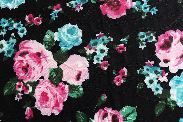 2019  wholesale polyester spandex knit  print  jacquard fabric for clothes
