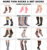 DL-II-1546 ladies net socks net socks fishnet socks
