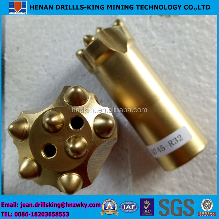 Reasonable factory price 41mm 43mm 45mm 48mm 51mm 57mm 64mm R32 Button Bit
