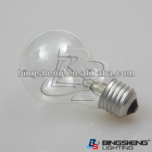 220-240v 60w/75w/100w A55 Ge Incandescent Clear Light Bulbs E26 ...
