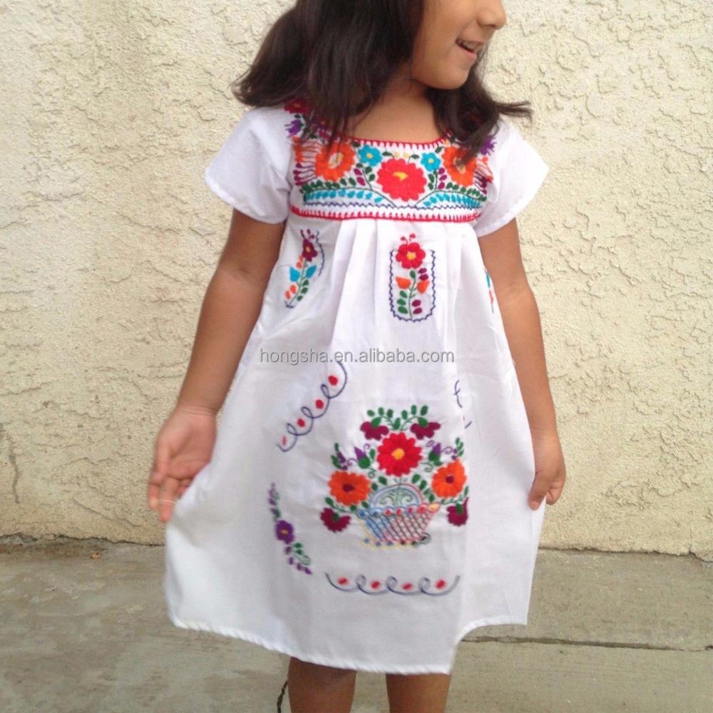 f214417ad ... Última Fumadores Vestido Para Las Muchachas De Flor Hsd1290 - Buy  Vestido Bordado Mexicano,Chicas Fumar Vestido,Último Vestido Diseños Para  Flores Niñas ...