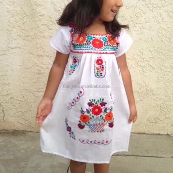 Vintage Mexican Embroidered Dress Latest Smoking Designs For Flower S Hsd1290