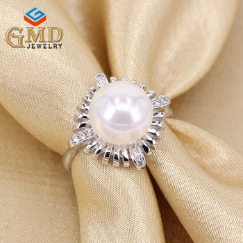 Fashion Exports Birthday Gifts For Girlfriend Charm Cz Jewelry Platinum 950 Ring Wedding