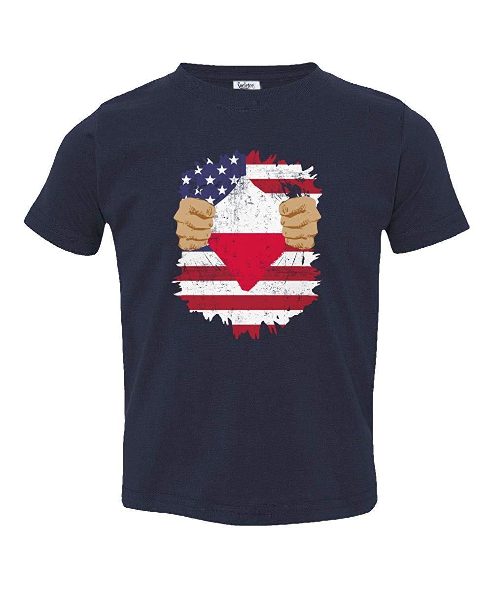 Societee Polish American USA Poland Pride Flag Youth & Toddler Tee Shirt