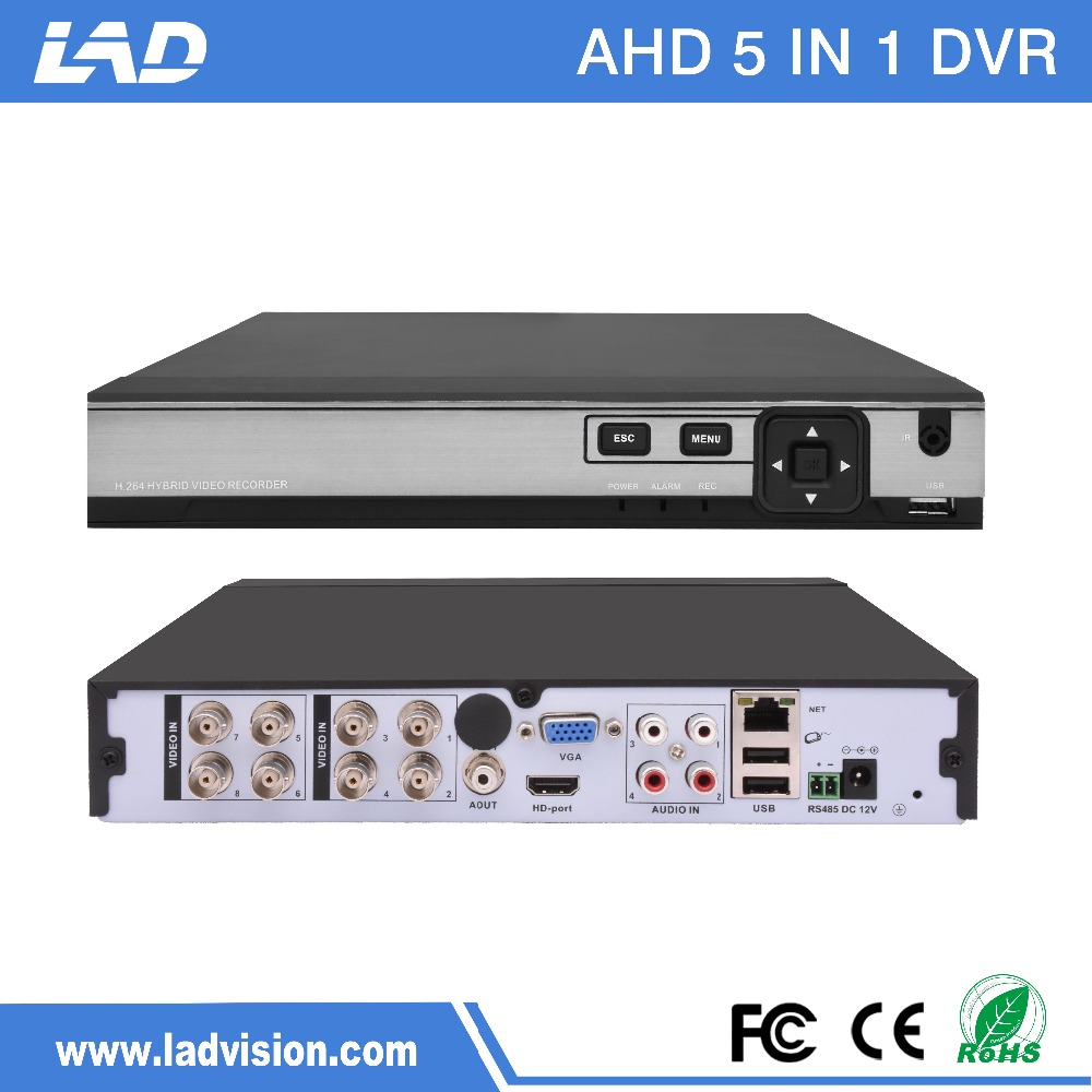 XMeye CCTV recorder PAL/NTSC 8 Channel 1080P AHD <strong>DVR</strong> price