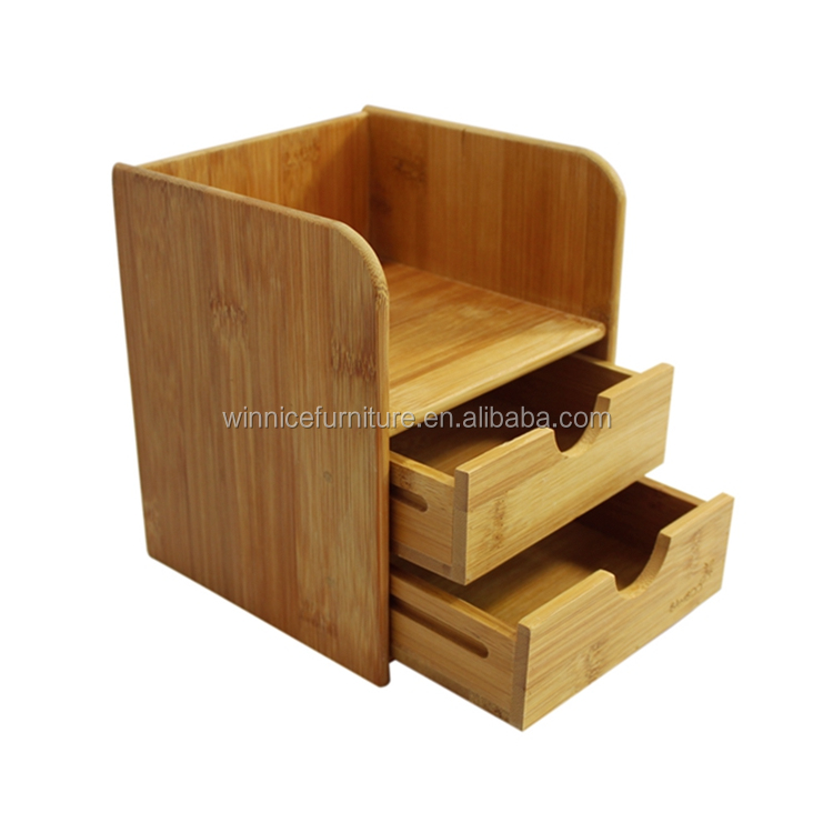 Custom Made Sample Available FSC Certificated Ps Desk Organizers