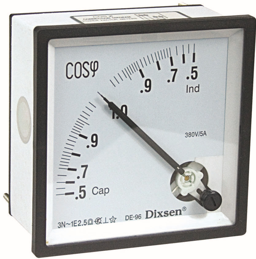 3 Phase Cos Panel Meter