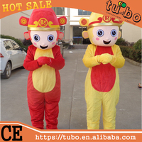 hot sale adult plush monkey king costume for advertising