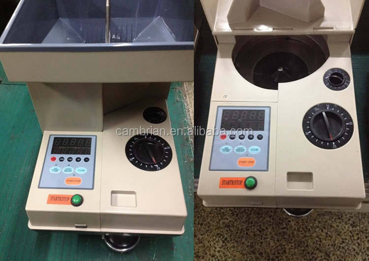 High speed 2000pieces/min coin separator counter sorter
