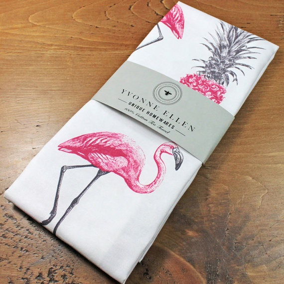 custom printed tea towel customize digital printed white kitchen cotton linen tea towel