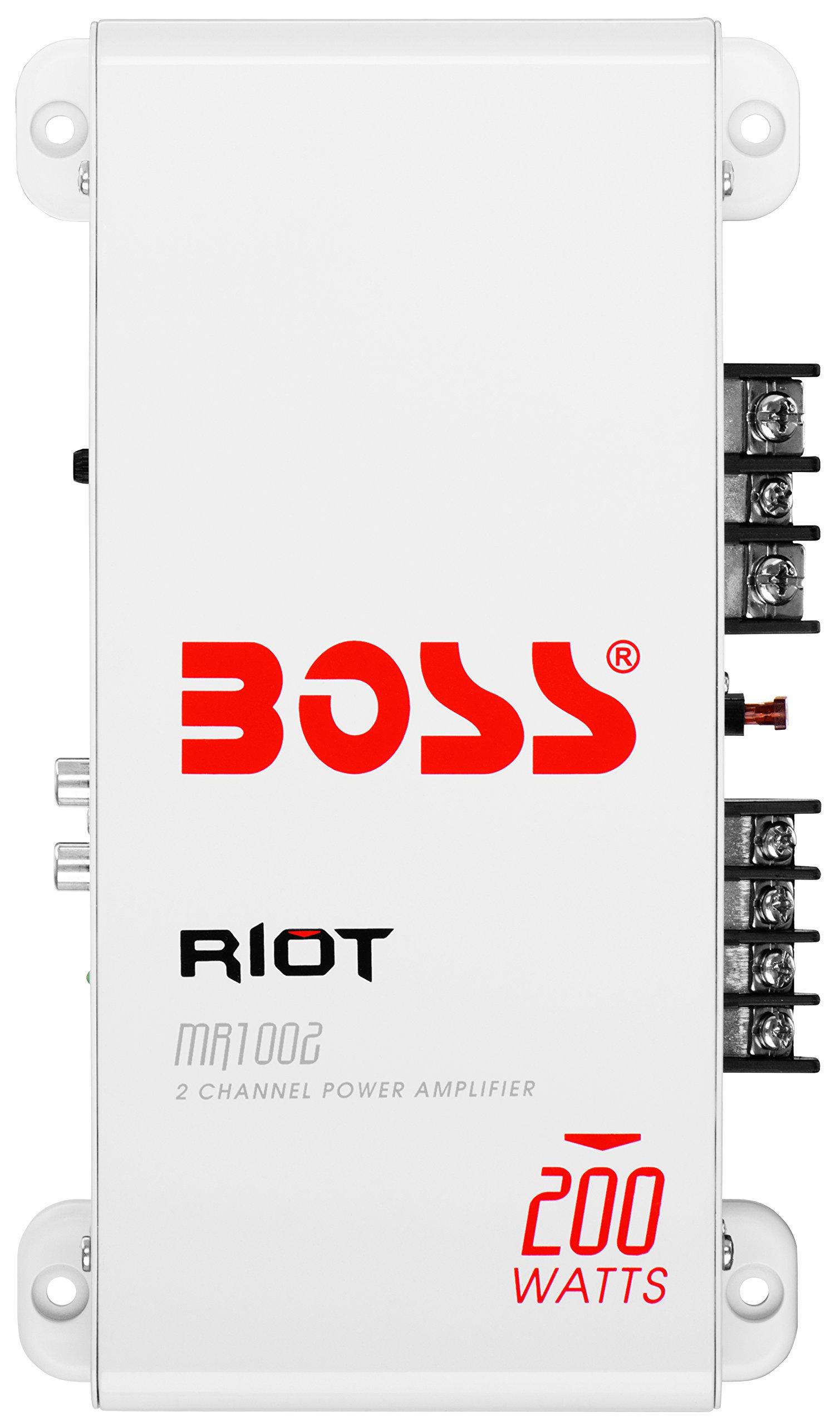 Cheap 200 Watt Audio Amplifier Find Deals Lm380 Power Circuit Get Quotations Boss Mr1002 Marine Grade 2 Channel 4 Ohm Stable